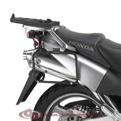 Portamaletas lateral sistema monokey de HONDA XL1000V VARADERO 03-06