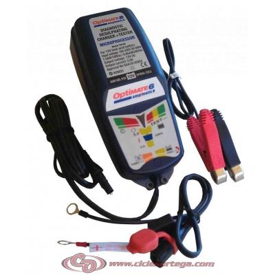 Cargador y mantenedor de baterias OPTIMATE 6