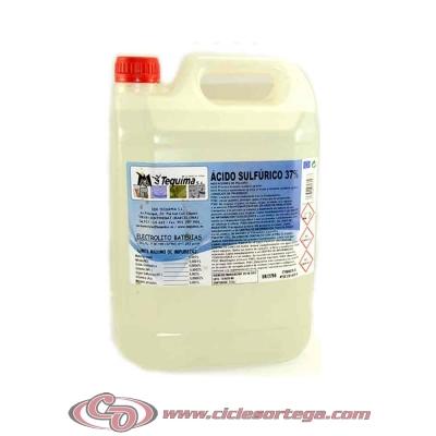 Acido sulfúrico activador de baterías 5 litros