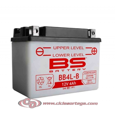 Bateria BS BATTERY YB4L-B