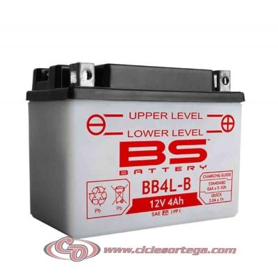 Bateria BS BATTERY BB4L-B equivalente a YB4L-B