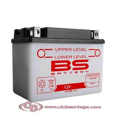 Bateria BS BATTERY 12N9-4B-1 equivalente yuasa 12N9-4B-1