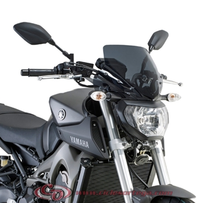 Carenabrís Naked A2115 de Givi YAMAHA MT-09 2013-