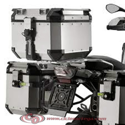Kit Anclajes Givi SRA5112 para BAUL sistema monokey BMW R 1200 GS ADVENTURE 2014-