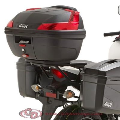 Kit Anclajes Givi para BAUL sistema monolock HONDA CBR500R 2013-