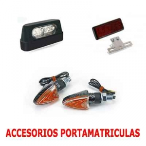 ACCESORIOS PORTAMATRiCULAS