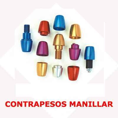 CONTRAPESOS MANILLAR